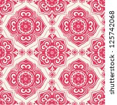ornate seamless pattern ... | Shutterstock .eps vector #125742068