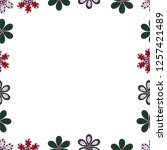 seamless pattern. vector... | Shutterstock .eps vector #1257421489