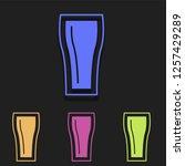 soda icon in multi color....