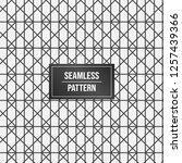geometric pattern background.... | Shutterstock .eps vector #1257439366