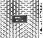 geometric pattern background.... | Shutterstock .eps vector #1257439396
