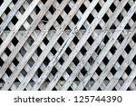 old wooden lath. | Shutterstock . vector #125744390