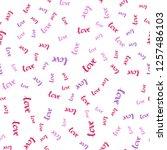 light purple  pink vector...   Shutterstock .eps vector #1257486103