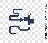 orientation icon. trendy... | Shutterstock .eps vector #1257490069