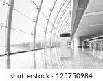 futuristic guangzhou airport... | Shutterstock . vector #125750984