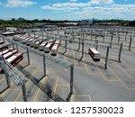 toronto  canada   july 17  2018 ... | Shutterstock . vector #1257530023