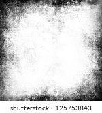 Stock photo black and white grunge background 125753843