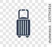 baggage icon. trendy baggage... | Shutterstock .eps vector #1257541816