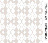rhombus pattern. vector... | Shutterstock .eps vector #1257568963