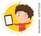 vector illustration of kid...   Shutterstock .eps vector #1257571210
