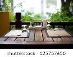 Cozy Restaurant Table Setting