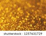 gold blur bokeh light.... | Shutterstock . vector #1257631729