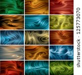 vector abstract background set  ... | Shutterstock .eps vector #125773070