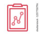 analytic   chart  graph   | Shutterstock .eps vector #1257750796