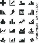 solid black vector icon set  ... | Shutterstock .eps vector #1257753520