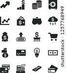 solid black vector icon set  ... | Shutterstock .eps vector #1257768949