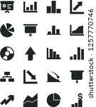 solid black vector icon set  ... | Shutterstock .eps vector #1257770746