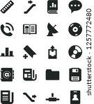 solid black vector icon set  ... | Shutterstock .eps vector #1257772480