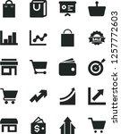 solid black vector icon set  ... | Shutterstock .eps vector #1257772603