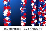 colours of american flag. usa... | Shutterstock .eps vector #1257780349