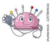 doctor wicker basket on a... | Shutterstock .eps vector #1257804616