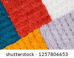 artificial fur fabric ... | Shutterstock . vector #1257806653