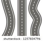 vector illustration of... | Shutterstock .eps vector #1257834796
