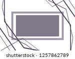 abstract monochrome figure... | Shutterstock .eps vector #1257862789