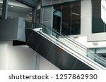 escalator in pavilion shopping... | Shutterstock . vector #1257862930
