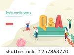 Q   A  Qna Vector Ilustration...