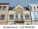 low angle view of beautiful old ... | Shutterstock . vector #1257864283