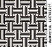 vector seamless pattern. modern ... | Shutterstock .eps vector #1257885199
