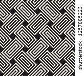 vector seamless pattern. modern ...   Shutterstock .eps vector #1257885223