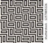 vector seamless pattern. modern ...   Shutterstock .eps vector #1257885226