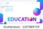 online education. vector design ...