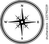 compass icon | Shutterstock .eps vector #125790239