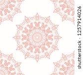 orient vector classic pink... | Shutterstock .eps vector #1257914026