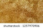 vector gold glitter background  ... | Shutterstock .eps vector #1257970906