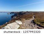 rocky coast la pointe du...   Shutterstock . vector #1257992320