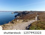 rocky coast la pointe du...   Shutterstock . vector #1257992323