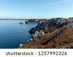 rocky coast la pointe du...   Shutterstock . vector #1257992326