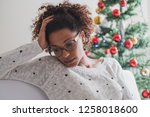 feeling alone and abandoned... | Shutterstock . vector #1258018600