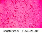 rimson pink color powder...   Shutterstock . vector #1258021309
