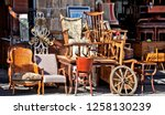 Group Of Retro Home Wooden...