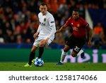 denis cheryshev of valencia and ... | Shutterstock . vector #1258174066