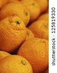 oranges | Shutterstock . vector #125819330