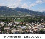 vaduz  liechtenstein on august... | Shutterstock . vector #1258207219