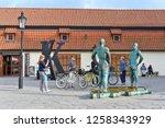 prague  czech republic   may 2  ...   Shutterstock . vector #1258343929