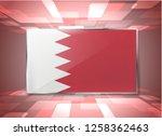 bahrain flag background islamic ... | Shutterstock .eps vector #1258362463