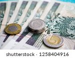 polish money pln  | Shutterstock . vector #1258404916